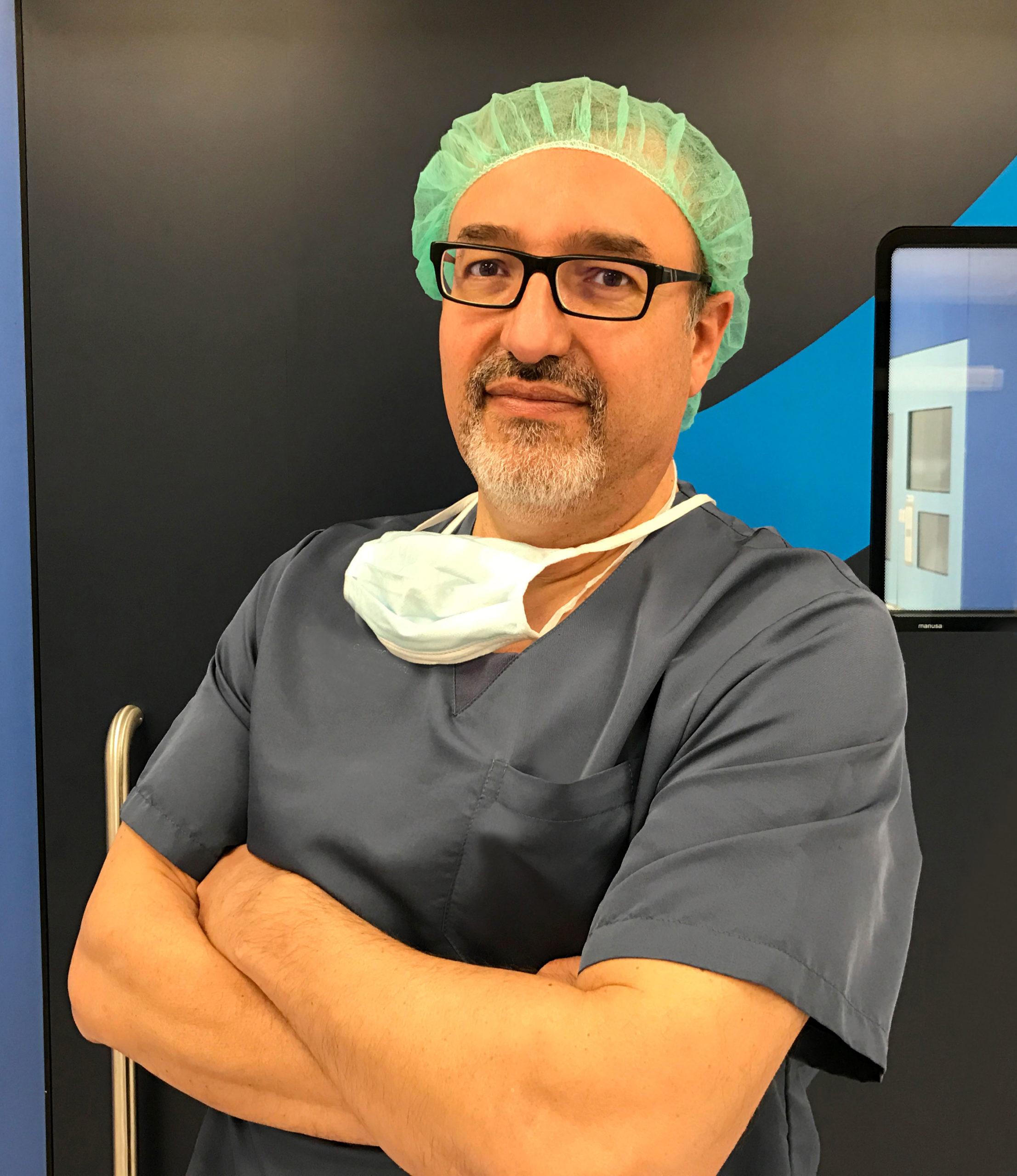 Dr. José Pinós - Especialista en Oftalmología y Cirugía Oftálmica.