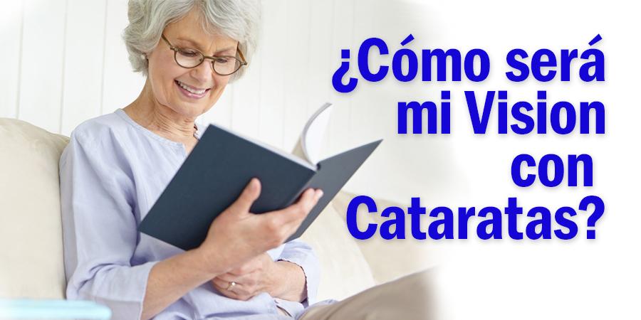 Visión con Cataratas